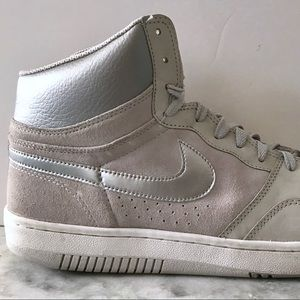 MENS NIKE Grey Hi Top Sneakers